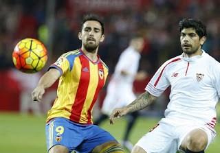 Sevilla 1-Valencia 0. Jornada 13 Liga Española