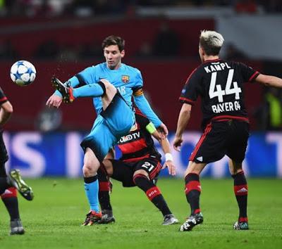 Leverkusen Barcelona