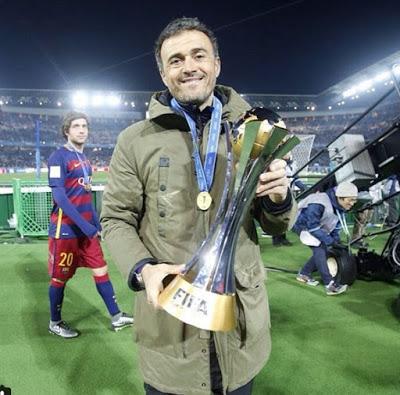 El Barça festeja el Mundial de Clubes en Instagram luis enrique
