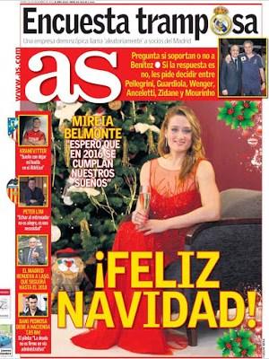 Portada AS: Feliz Navidad