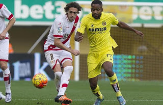 Villarreal 2-Rayo Vallecano 1. Jornada 14 Liga Española