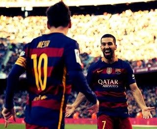 Barcelona 4-Granada 0. Jornada 19 Liga Española messi turan