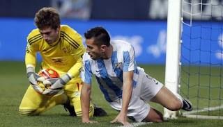 Málaga 2-Celta de Vigo 0. Jornada 18 Liga Española