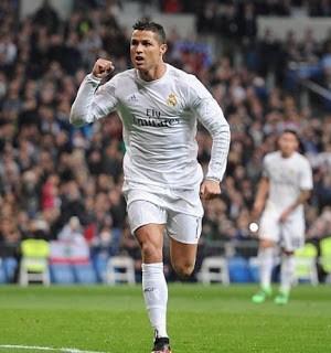 Real Madrid 6-Espanyol 0. Jornada 22 Liga Española Cristiano Ronaldo