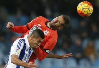 Real Sociedad 1-Deportivo 1. Jornada 20 Liga Española
