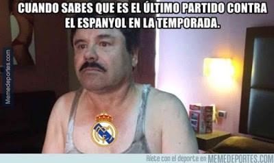 Los mejores memes del Real Madrid-Espanyol: Jornada 22 chapo guzman