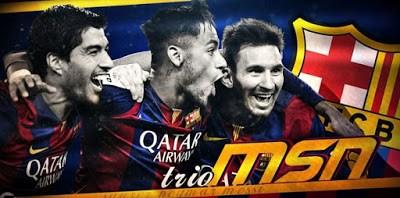 Lionel Messi mejor gol del Barça en 2015 suarez neymar
