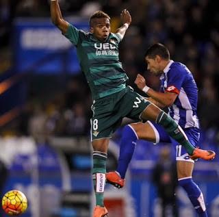 Deportivo la Coruña 2-Betis 2. Jornada 24 Liga Española