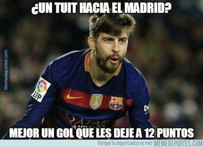 Los memes del Barcelona-Sevilla más divertidos. Liga BBVA gerard pique