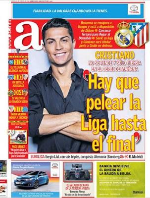Portada AS: Cristiano Ronaldo