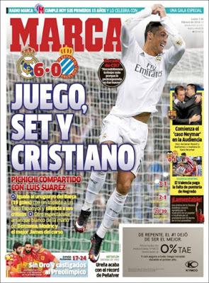 Portada Marca: Juego, Set y Cristiano