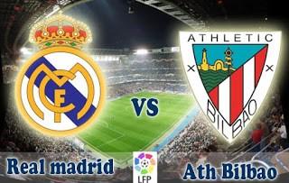 Alineación y previa Real Madrid-Athletic Bilbao. Jornada 24