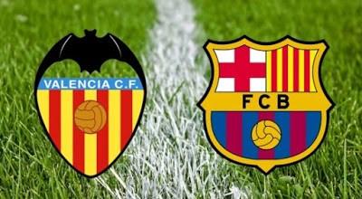 Alineación Valencia-Barcelona. Semifinales Copa del Rey (vuelta)
