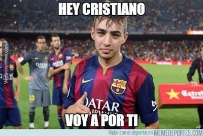 Los memes del Barcelona-Getafe más divertidos. Liga BBVA munir