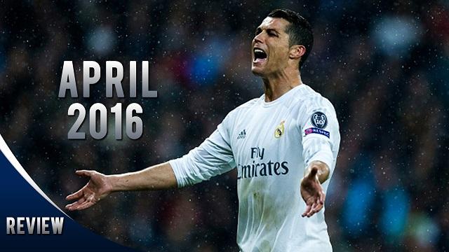Cristiano Ronaldo goles abril 2016
