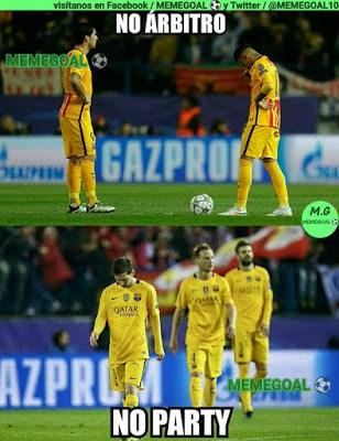 Los memes del Atlético Madrid-Barcelona más divertidos: Cuartos Champions