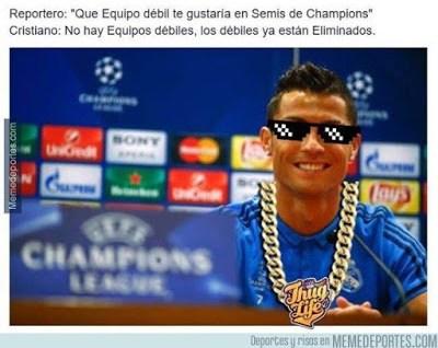 Los memes del Real Madrid-Eibar más divertidos. Liga BBVA cristiano ronaldo thug life
