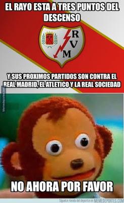 Los memes del Rayo Vallecano-Real Madrid más divertidos. Liga BBVA