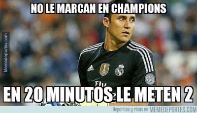 Los memes del Wolfsburgo-Real Madrid más divertidos: Cuartos Champions keylor navas