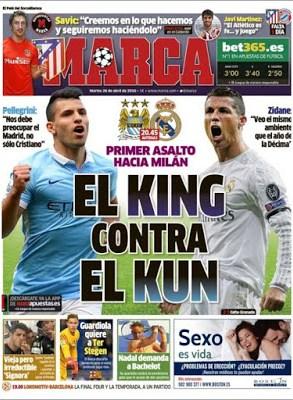 Portada Marca: El King contra el Kun