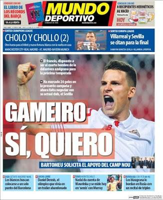 Portada Mundo Deportivo: Gameiro