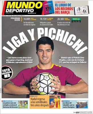 Portada Mundo Deportivo: Liga y Pichichi