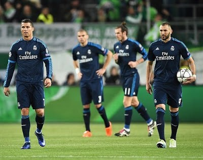 Wolfsburgo 2-Real Madrid 0. Cuartos Champions (ida)