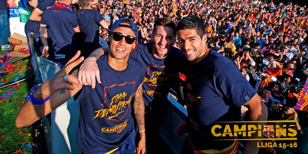 la rua de los campeones barcelona 2016