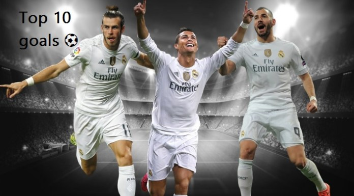 Top 10 goles Real Madrid 2015-2016