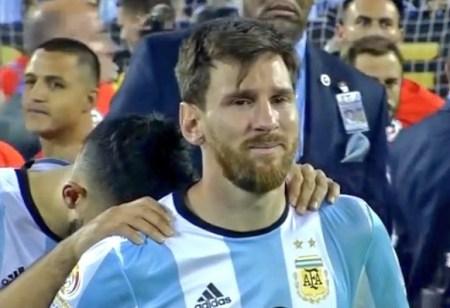 chile campeon copa america centenario 2016 llanto messi