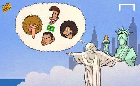 memes brasil copa america centenario