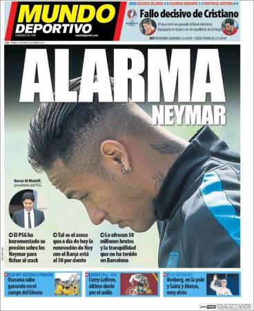 portada-mundo-deportivo-alarma-neymar