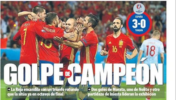 España liquida Turquía