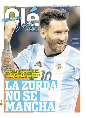 Messi hat-trick Panamá