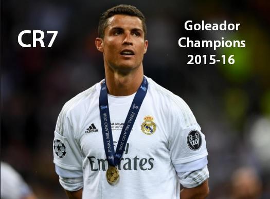 Goleadores Champions League 2016