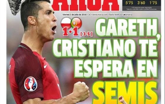 Portugal en semifinales eurocopa