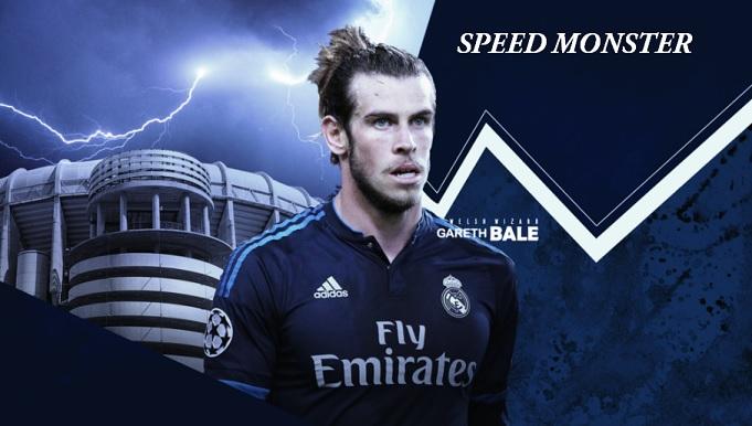 Gareth Bale Speed Monster