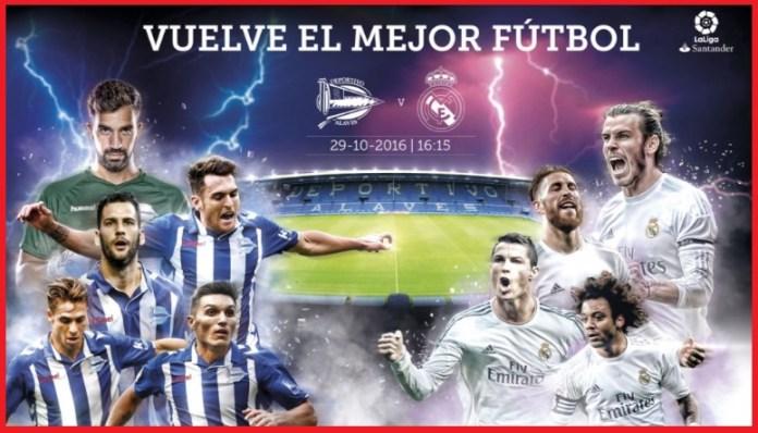 Alineación Alavés-Real Madrid