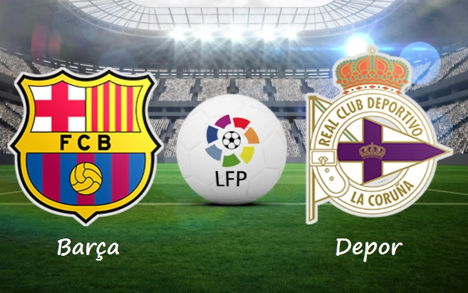 Alineación Barcelona-Deportivo Jornada 8