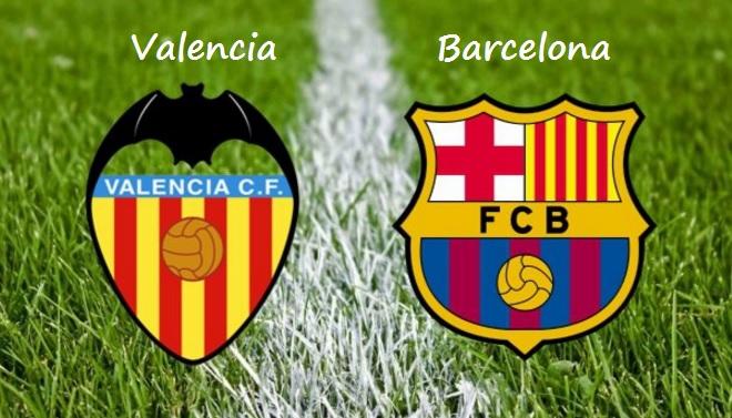Alineación Valencia-Barcelona