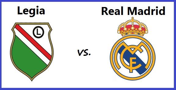Alineación Legia Varsovia-Real Madrid