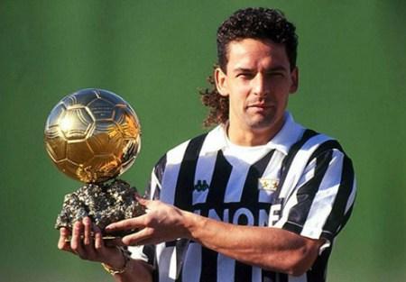 Roberto Baggio Balón de Oro 1993