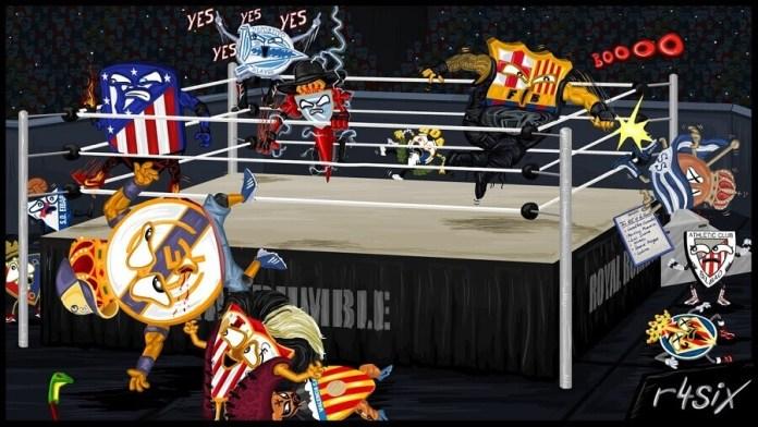 Memes Sorteo Semifinales Copa del Rey 2017