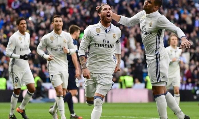 Real Madrid-Málaga 2017