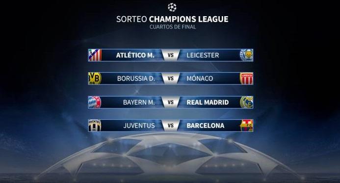 Cuartos Champions League 2017