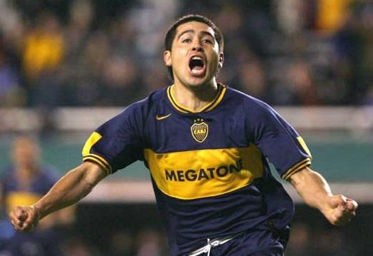 Juan Román Riquelme Boca Juniors