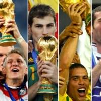 Campeones de los Mundiales de Fútbol 1930-2014