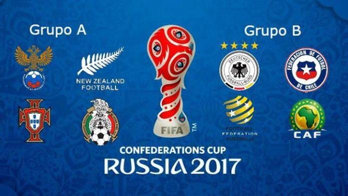 Tabla de posiciones Copa Confederaciones Rusia 2017