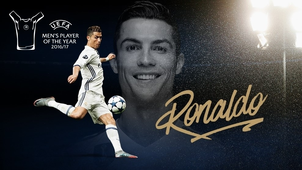 Cristiano Ronaldo UEFA Best Player 2017 | El mejor jugador ...