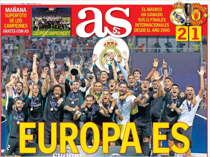 El Real Madrid Supercampeón de Europa 2017